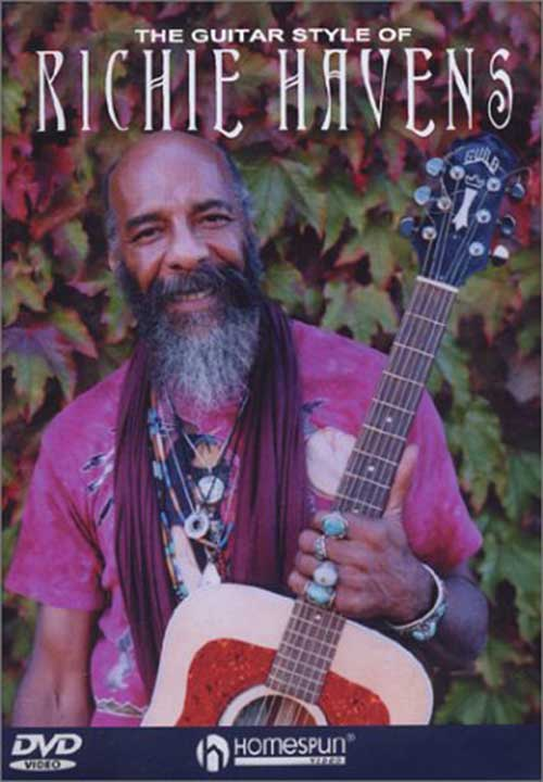 The Guitar Style of Richie Havens DVD Cover