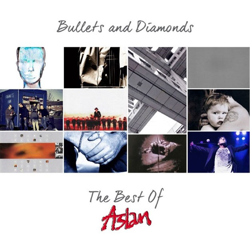 Aslan 'Bullets and Diamonds' Album Cover