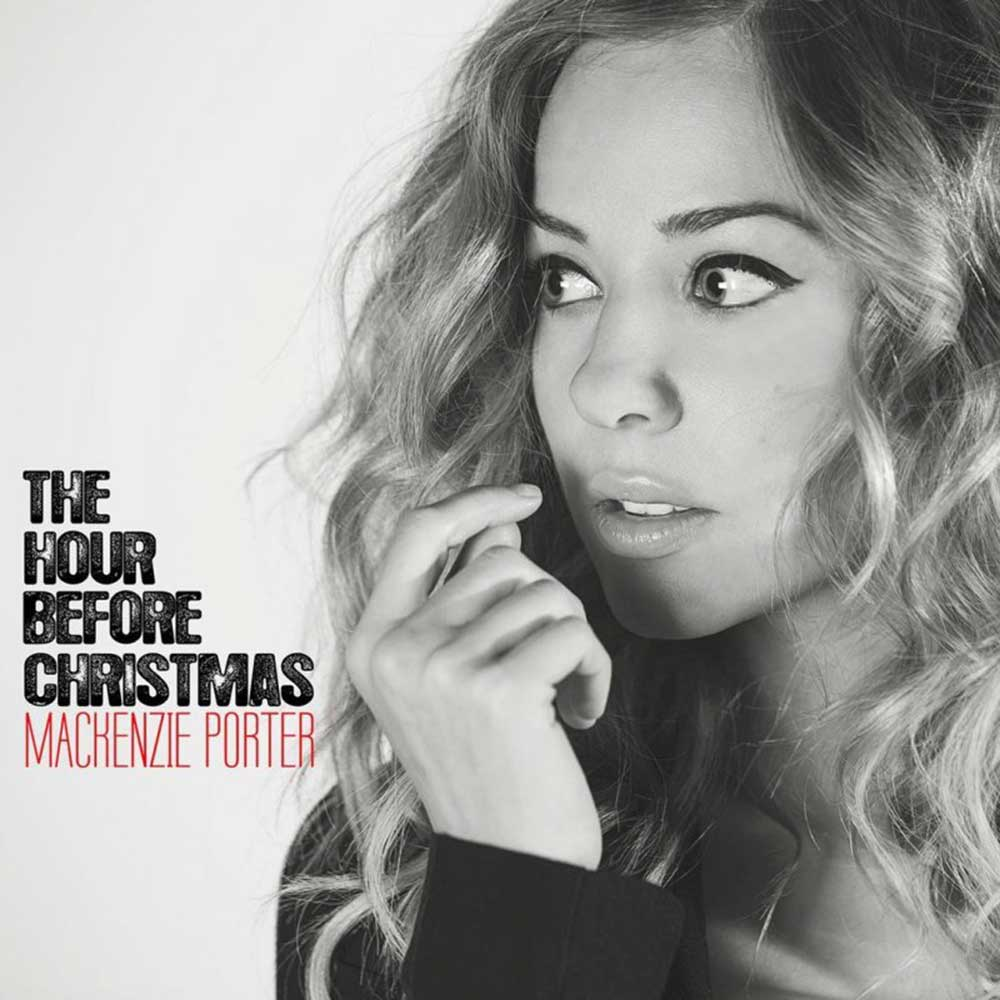 Mackenzie Porter - 'The Hour Before Christmas' Single Cover