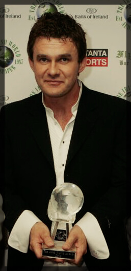 Don Mescall at the Irish World Media Awards 2006